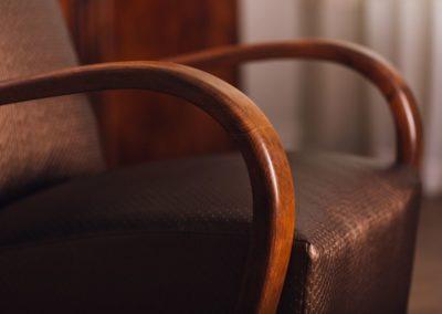 fotel karfa részlet